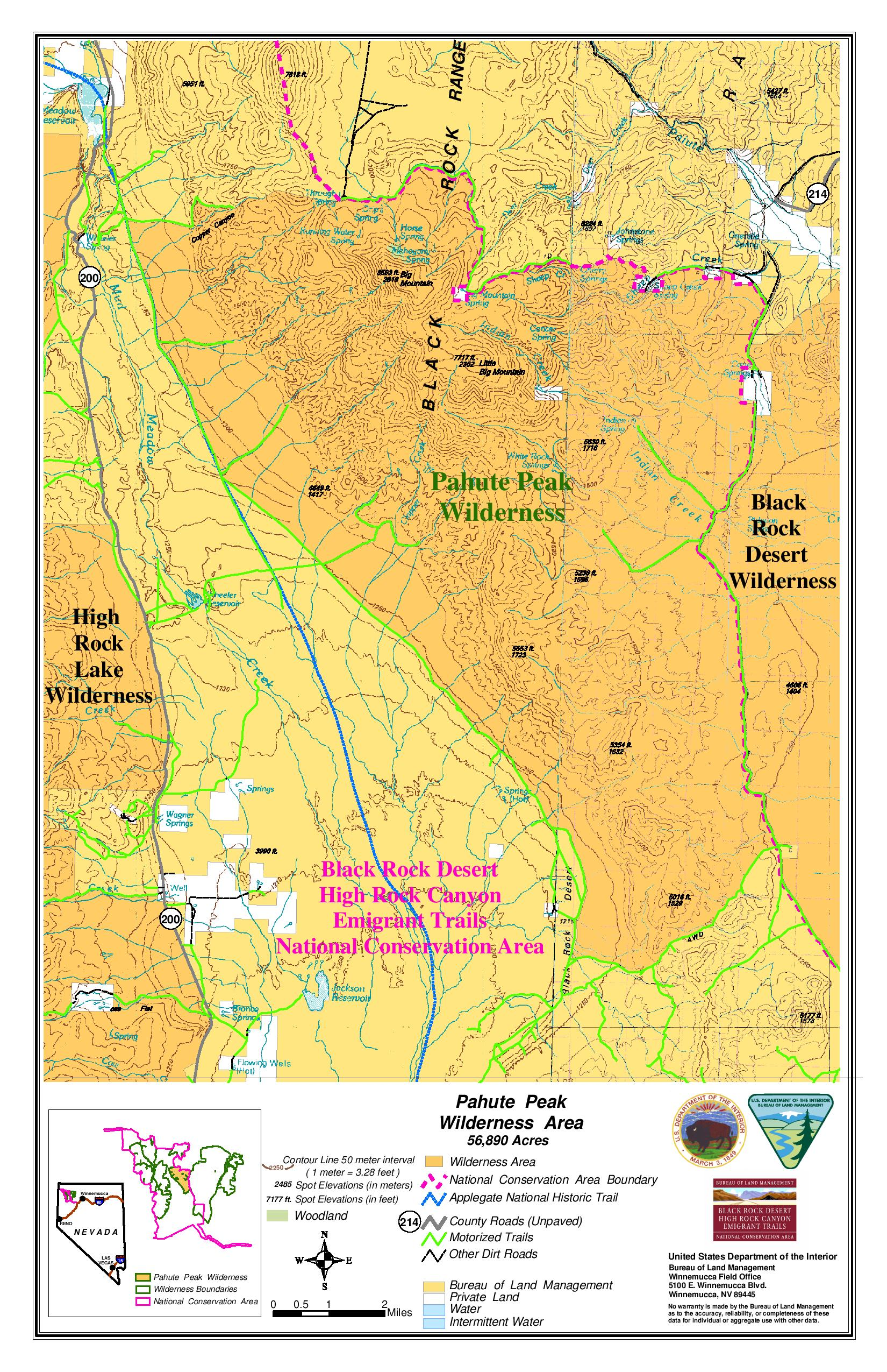 black rock city nevada map Maps Friends Of Black Rock High Rock black rock city nevada map
