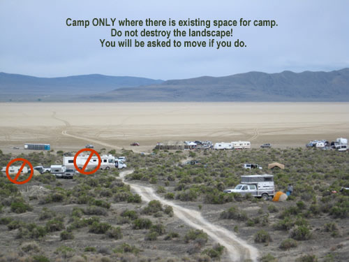 where not to camp