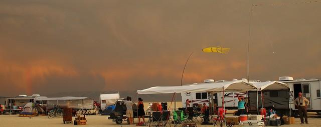 cloudy campout