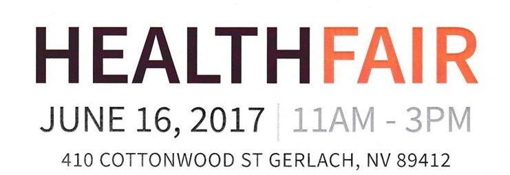 gerlach health fair