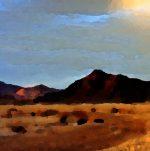 Black Rock Desert Landscape