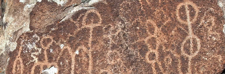 rock art in Nevada